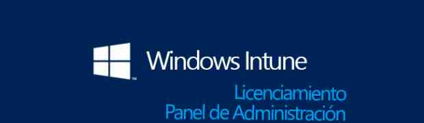 Licenciamiento en Windows Intune